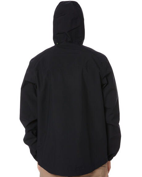 BLACK MENS CLOTHING GLOBE JACKETS - GB02007001BLK