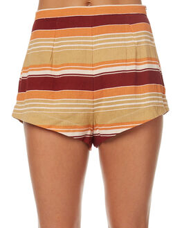 MULTI WOMENS CLOTHING ZULU AND ZEPHYR SHORTS - ZZ1648MULTI