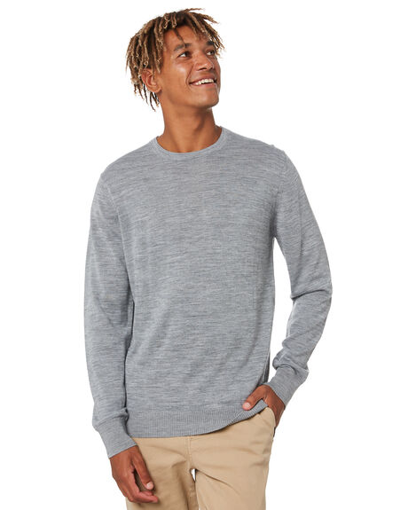 GREY MARLE MENS CLOTHING RUSTY KNITS + CARDIGANS - CKM0360GMA