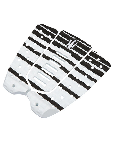 BLACK WHITE BOARDSPORTS SURF FAR KING TAILPADS - 1210BLKWH