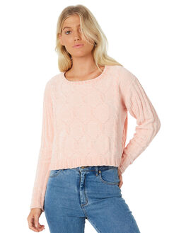 PINK WOMENS CLOTHING ALL ABOUT EVE KNITS + CARDIGANS - 6413051PNK