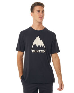 TRUE BLACK MENS CLOTHING BURTON TEES - 138821001