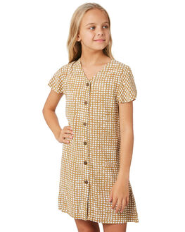 GOLD KIDS GIRLS RIP CURL DRESSES + PLAYSUITS - JDRBM10146