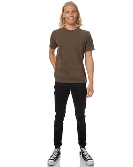DEEP BLACK MENS CLOTHING NUDIE JEANS CO JEANS - 112451DEPBK
