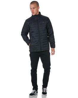 BLACK MENS CLOTHING VOLCOM JACKETS - A1631R0BLK
