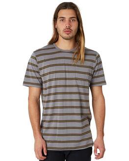 OLIVE MENS CLOTHING CAPTAIN FIN CO. TEES - CK174221OLI