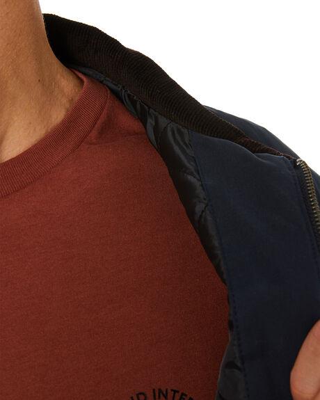 JET INK MENS CLOTHING GLOBE JACKETS - GB02037005JETINK