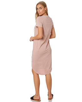 DUSTY PINK WOMENS CLOTHING SILENT THEORY DRESSES - 6008016PNK