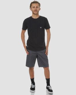 CHARCOAL MENS CLOTHING DICKIES SHORTS - K3130803CHA