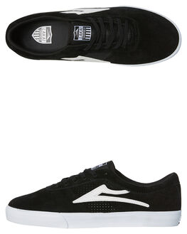 BLACK MENS FOOTWEAR LAKAI SKATE SHOES - MS3170101A00BLK