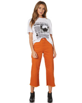 OFF WHITE WOMENS CLOTHING TWIIN TEES - IE19S1009WHI