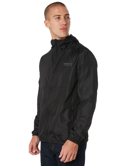 BLACK MENS CLOTHING DEPACTUS JACKETS - D5193381BLACK
