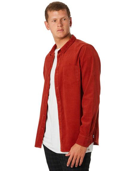 RUST MENS CLOTHING BANKS SHIRTS - WLS0094RST