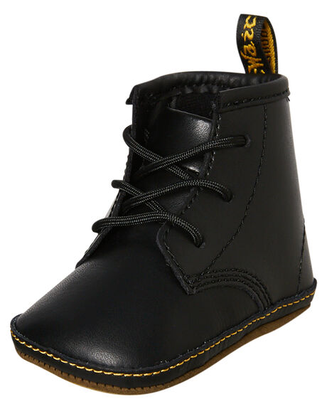 BLACK KID LAMPER KIDS BOYS DR. MARTENS FOOTWEAR - SS15329001BLKB