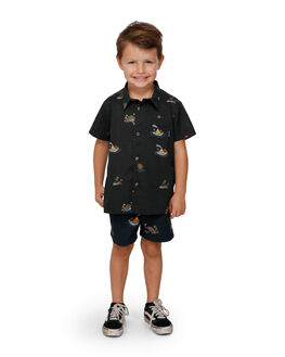 BLACK KIDS BOYS BILLABONG TOPS - BB-7591205-BLK