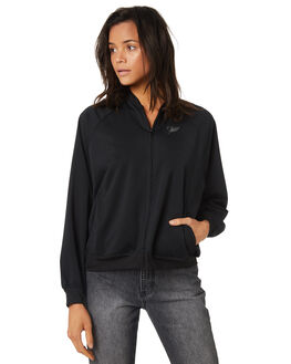 BLACK WOMENS CLOTHING HURLEY JACKETS - AR4090010