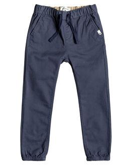 BLUE NIGHTS KIDS BOYS QUIKSILVER PANTS - EQKNP03050-BST0