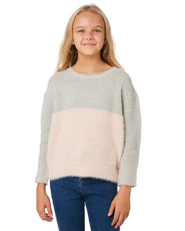 GREY PINK KIDS GIRLS EVES SISTER JUMPERS + JACKETS - 9531028GRM