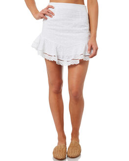 WHITE WOMENS CLOTHING TEE INK SKIRTS - VAW3000WHT