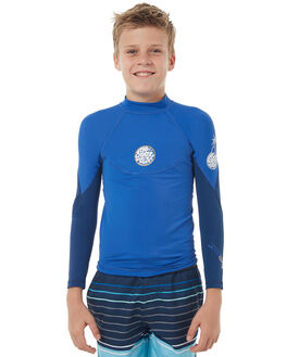 NAVY SURF RASHVESTS RIP CURL BOYS - WLH6DB0049
