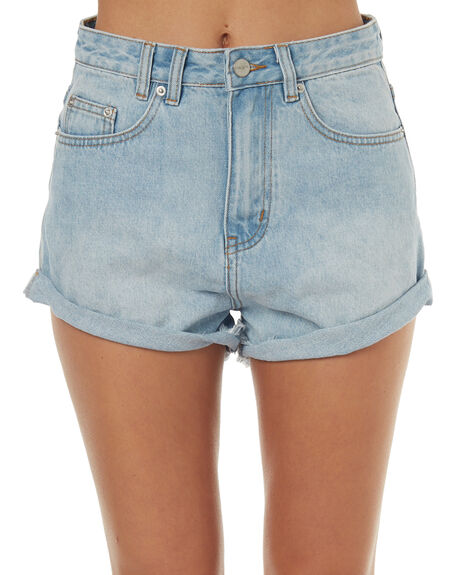 BLUE LOVE WOMENS CLOTHING INSIGHT SHORTS - 1000067376BLUULO