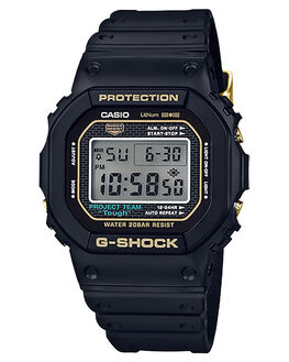 BLACK GOLD MENS ACCESSORIES G SHOCK WATCHES - DW5035D-1BDRBLKG