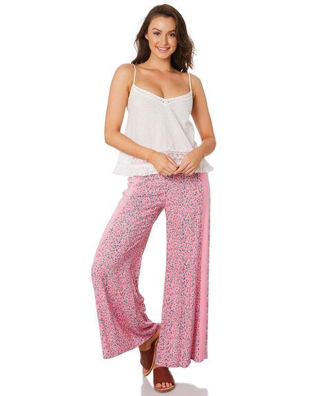 PINK WOMENS CLOTHING TIGERLILY PANTS - T392378PNK