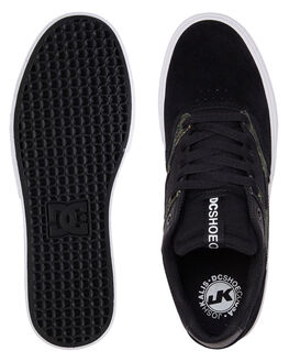 BLACK CAMO MENS FOOTWEAR DC SHOES SNEAKERS - ADYS300572-BLO