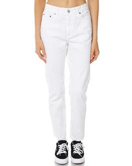 WHITE WOMENS CLOTHING DR DENIM JEANS - 1730105199