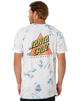 WHITE MENS CLOTHING SANTA CRUZ TEES - SC-MTA0544WHT
