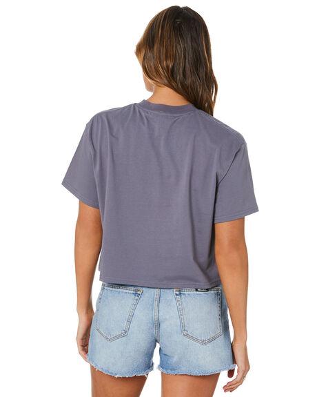 CROWN BLUE WOMENS CLOTHING RUSTY TEES - TTL1172CWB