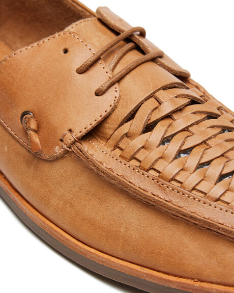 TAN OILY MENS FOOTWEAR URGE FASHION SHOES - URG17174TAN