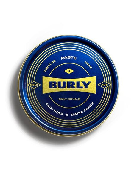 NATURAL HOME + BODY BODY BURLY MENS GROOMING - BURLYPASTE