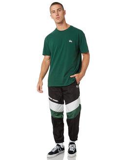BLACK MENS CLOTHING STUSSY PANTS - ST095613BLK