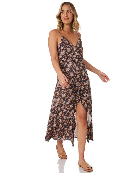 OMBRE BLUE WOMENS CLOTHING RUSTY DRESSES - DRL1051-OBLU