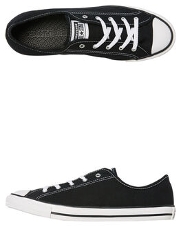 BLACK WOMENS FOOTWEAR CONVERSE SNEAKERS - 564982BLK