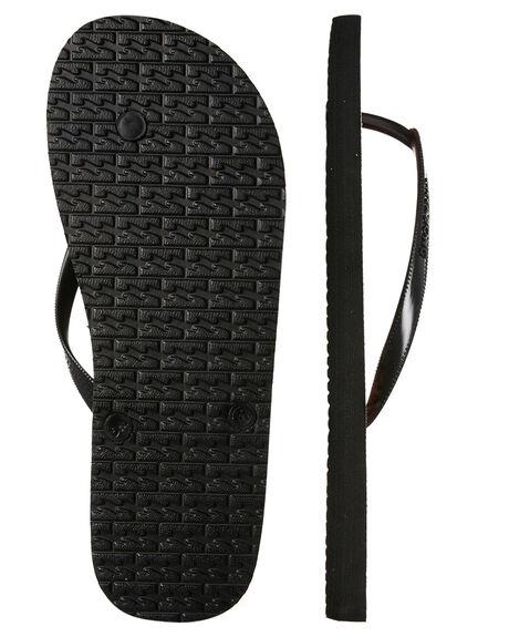 BLACK WOMENS FOOTWEAR BILLABONG THONGS - 6685801BLK
