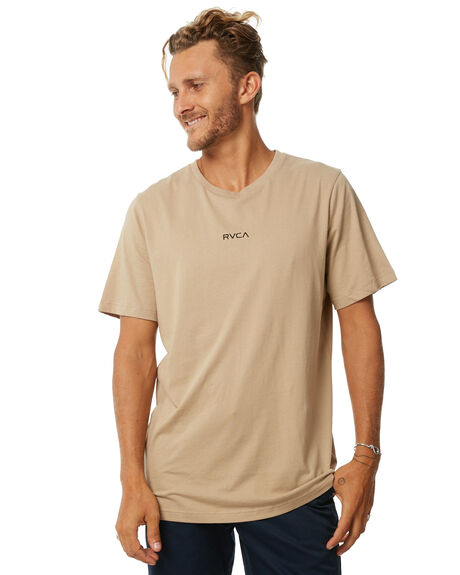 GOLDRUSH MENS CLOTHING RVCA TEES - R171043GRUSH