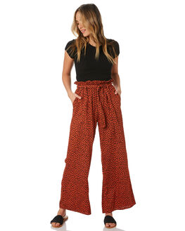 RUST SPOT WOMENS CLOTHING O'NEILL PANTS - 5921802RSP