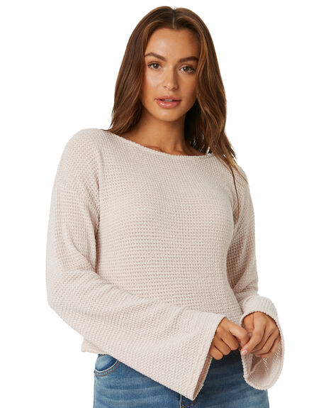 SABLE WOMENS CLOTHING RUSTY KNITS + CARDIGANS - MWL0228SAB