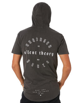 CHAROAL MENS CLOTHING SILENT THEORY TEES - 4020017CHAR