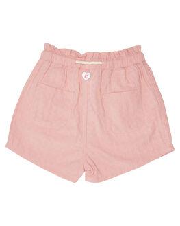 PINK KIDS GIRLS EVES SISTER SHORTS + SKIRTS - 8045012PNK