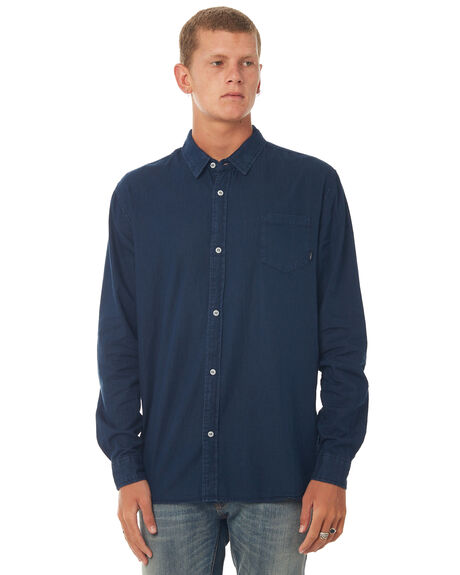 NAVY MENS CLOTHING SWELL SHIRTS - S5171170NAVY