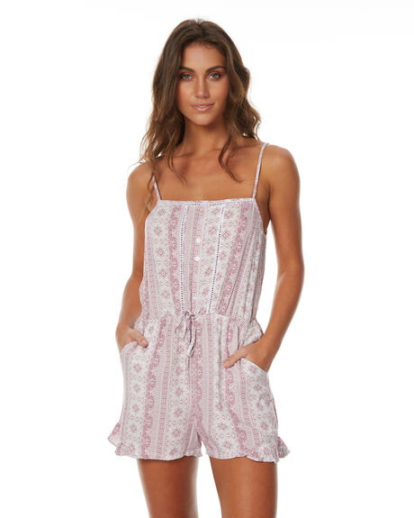 ORCHID WOMENS CLOTHING RHYTHM PLAYSUITS + OVERALLS - JUL17G-JS03ORCH