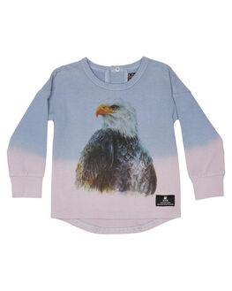 BLUE DIP DYE KIDS BABY ROCK YOUR BABY CLOTHING - BBT2044-EEBDD