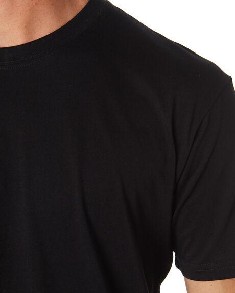 BLACK MENS CLOTHING AS COLOUR TEES - 5001GBLACK