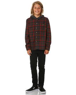 RED KIDS BOYS BILLABONG TOPS - 8595211RED