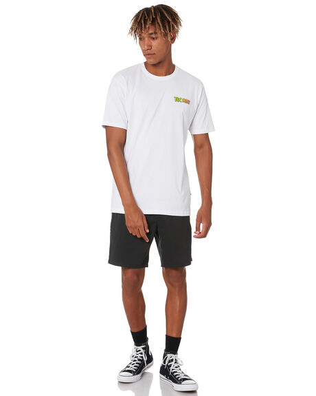 WHITE MENS CLOTHING TOWN AND COUNTRY TEES - TTE815BWHT