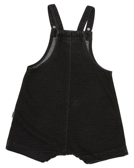 WASHED DENIM KIDS BABY BONDS CLOTHING - BWXTAFIH