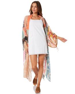 MULTI WOMENS CLOTHING FREE PEOPLE DRESSES - OB958135MULTI